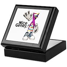 Nice Genes Funny DNA Strip Keepsake Box