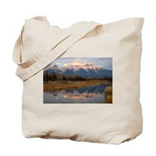 Schwabachers Landing Sunrise  Tote Bag