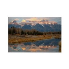 Schwabachers Landing Sunrise Rectangle Magnet