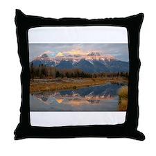Schwabachers Landing Sunrise  Throw Pillow