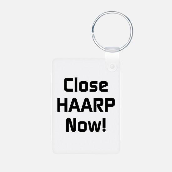 Close HAARP Now Keychains