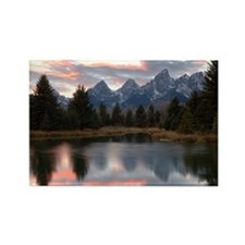 Schwabachers Landing Sunset 4 Rectangle Magnet