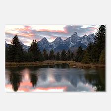 Schwabachers Landing Sunset 4 Postcards (Package o