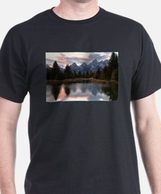 Schwabachers Landing Sunset 4 T-Shirt