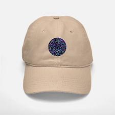 Baseball Baseball Cap Mosaic Glitter 1