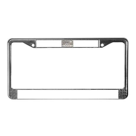 John 14:6 License Plate Frame