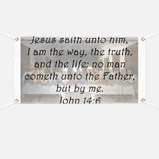 John 14:6 Banner