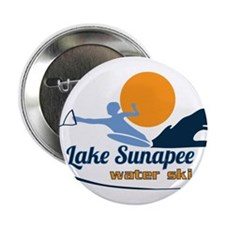 "Lake Sunapee Water Ski Club 2.25"" Button"