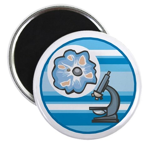 cool microscope circle design magnet by dagerdesigns. Black Bedroom Furniture Sets. Home Design Ideas