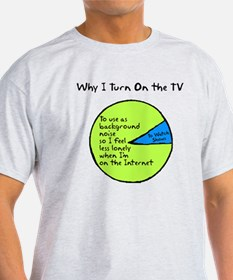Why I Watch TV T-Shirt