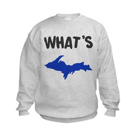 UP Upper Peninsula Michigan Kids Sweatshirt