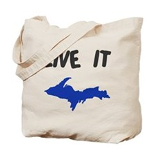 UP Upper Peninsula Michigan Tote Bag