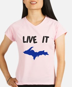 UP Upper Peninsula Michigan Performance Dry T-Shir