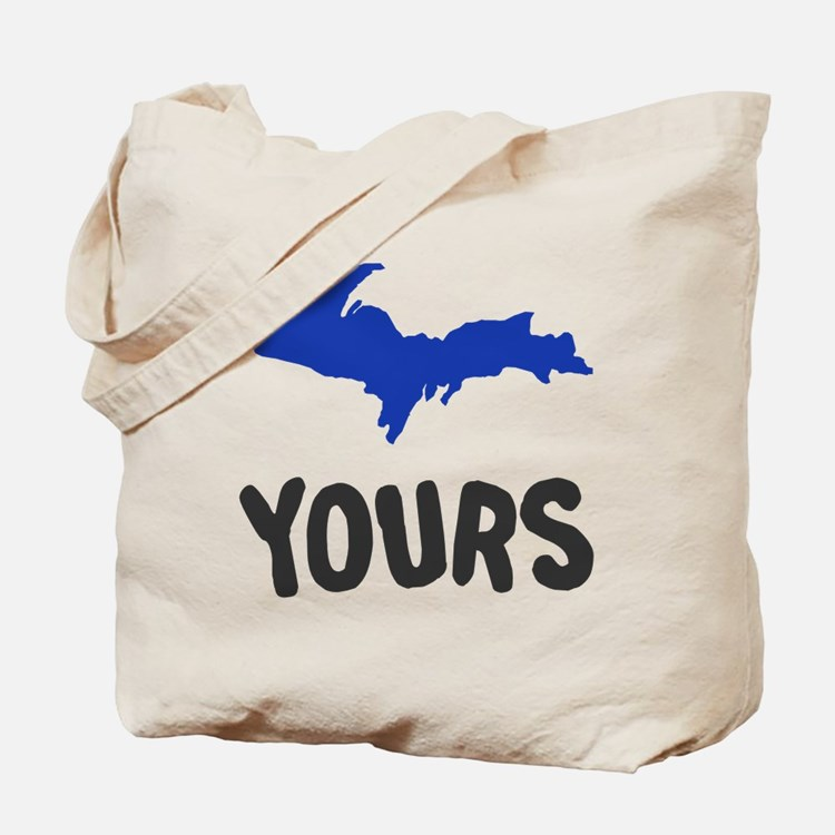 UP Upper Peninsula Michigan Tote Bag