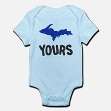 UP Upper Peninsula Michigan Infant Bodysuit