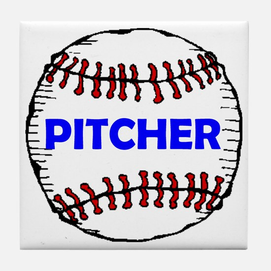 PITCHER Tile Coaster
