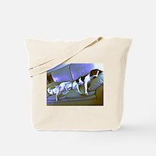 hard to be a dog Tote Bag