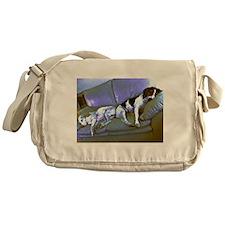 hard to be a dog Messenger Bag