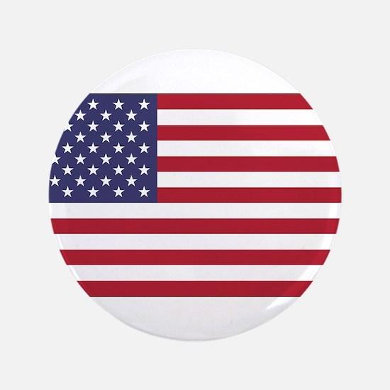 "American Flag 3.5"" Button"