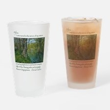 Penrhos idyll Drinking Glass