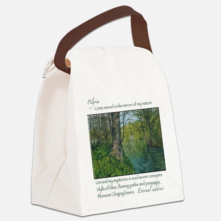 Penrhos idyll Canvas Lunch Bag