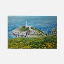 South Stack lighthouse Rectangle Magnet