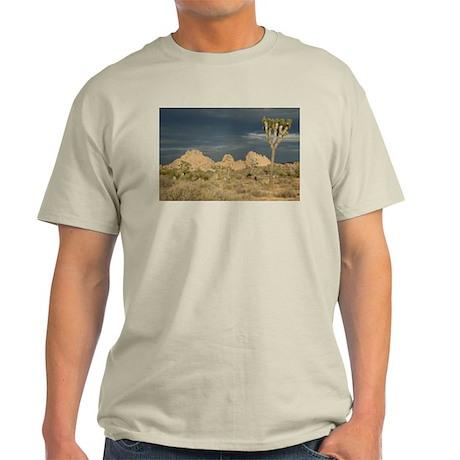 Joshua Tree Sunset Ash Grey T-Shirt