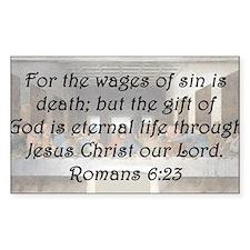 Romans 6:23 Decal