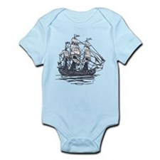 Nautical Ship Infant Bodysuit
