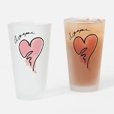 Agape Drinking Glass