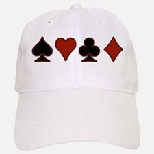 Playing Card Suits Baseball Baseball Cap