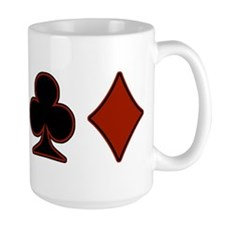 Playing Card Suits Mug