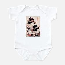 Ukiyoe Geisha Night Out Infant Bodysuit