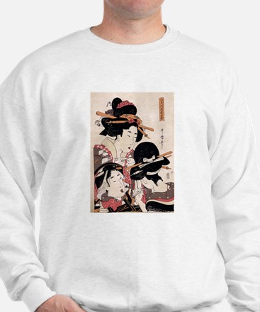 Ukiyoe Geisha Night Out Jumper