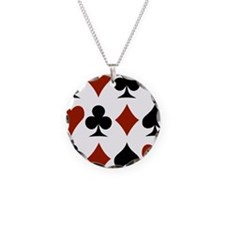 Playing Card Symbols Necklace