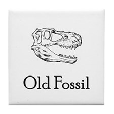 Old Fossil Tile Coaster