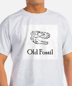 Old Fossil Ash Grey T-Shirt