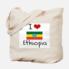 I HEART ETHIOPIA FLAG Tote Bag