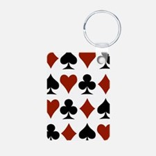 Playing Card Symbols Keychains
