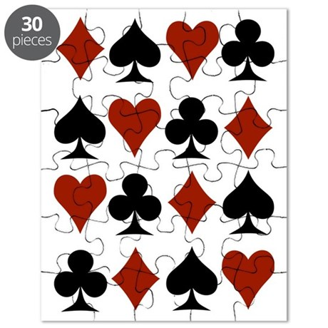Playing Card Symbols Puzzle