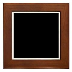 FLAT EARTH Framed Tile