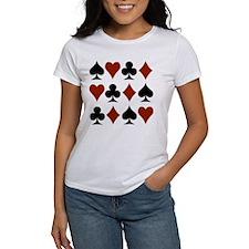 Playing Card Symbols Tee