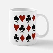 Playing Card Symbols Mug