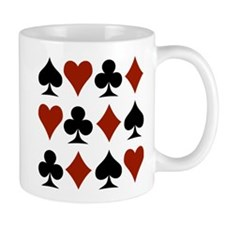 Playing Card Symbols Mug
