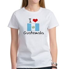 I HEART GUATEMALA FLAG T-Shirt
