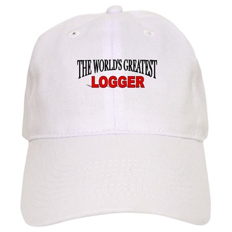 """The World's Greatest Logger"" Cap"