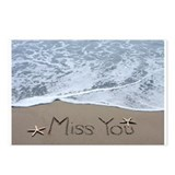 Miss you Postcards