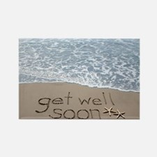 get well Rectangle Magnet