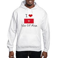 I HEART ISLE OF MAN FLAG Hoodie