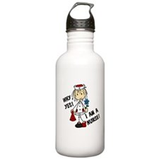 Why Yes I Am A Nurse Water Bottle